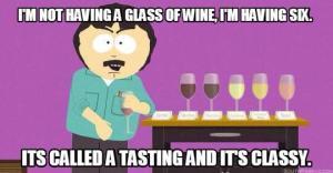 South coast wine funny