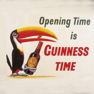 Guinness opening time