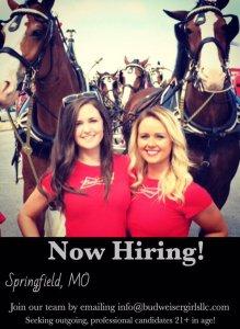 bud girls hiring