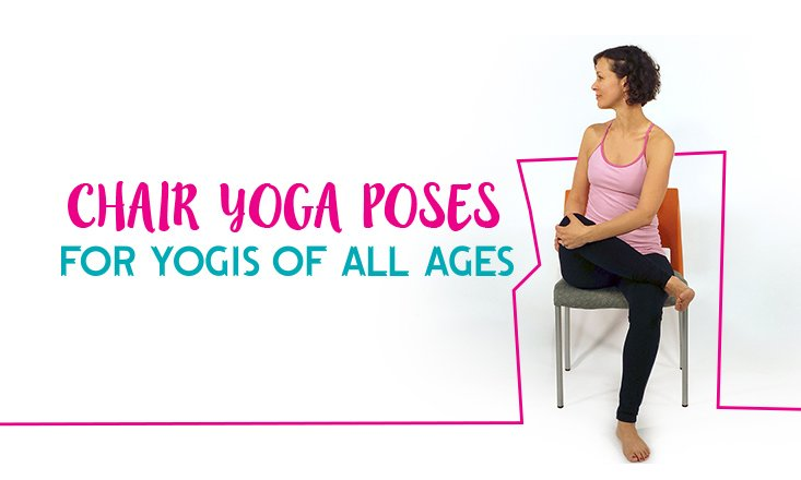 Chair yoga poses are great for everyone! Whether ...
