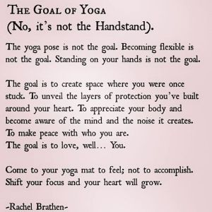 the goal of yoga tw 13616