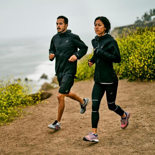 asics america run the outdoors