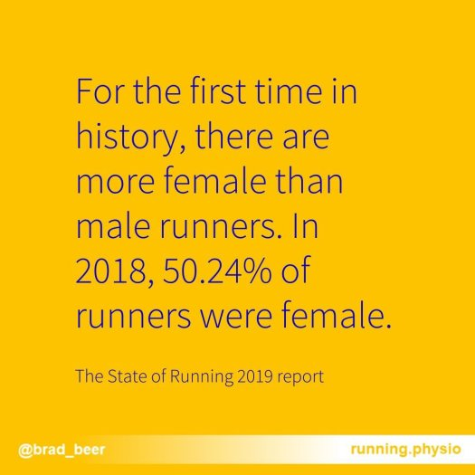 state of running report
