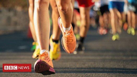 bbc news marathon running