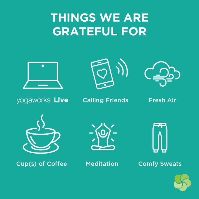 yoga works grateful