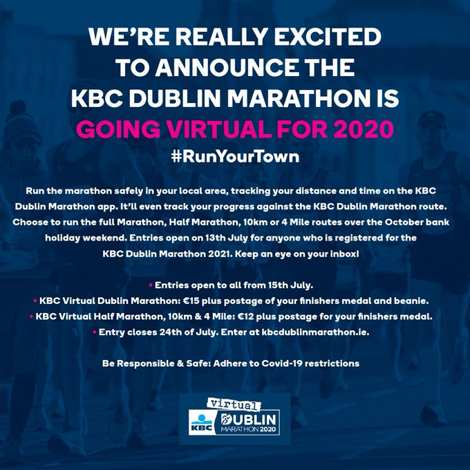 dublin virtual marathon